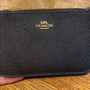 Women's Coach card case